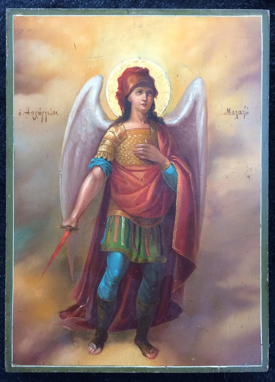 как выглядит архангел михаил фото есть, режиме реального
